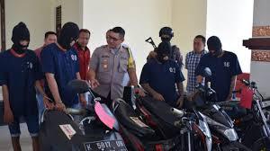 Polisi Ringkus 6 Pembegal Sadis di Demak